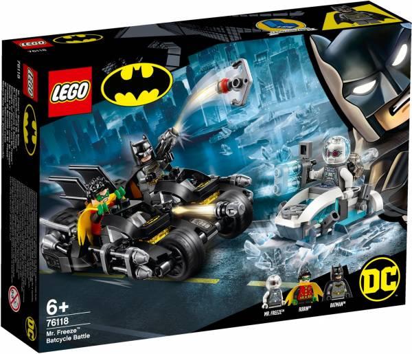 Mr. Freeze: Het Batcycle-gevecht Lego (76118)