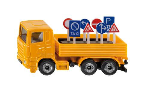 Siku Vrachtwagen Met Verkeersborden