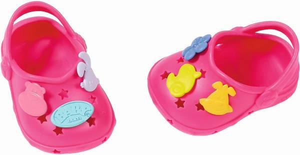 Schoenen met leuke pins Baby Born: roze (868129/82 4597)