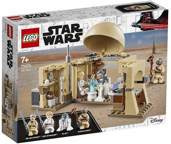 Obi-Wan`s Hut Lego (75270)
