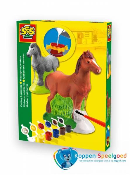 SES Gipsgieten paard