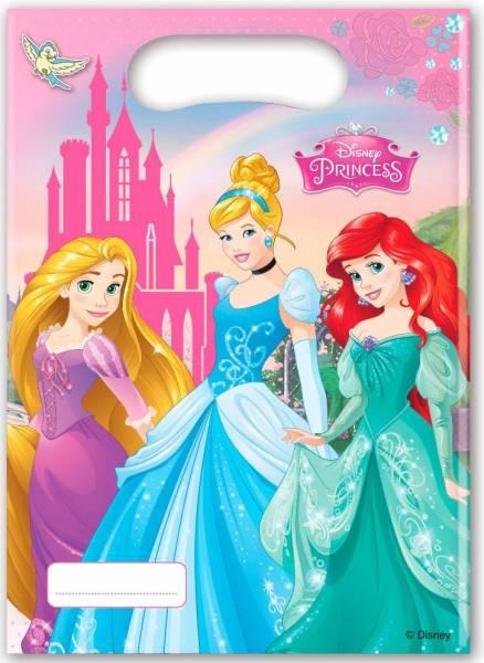 Feestzakjes Princess: 6 stuks (85005P)