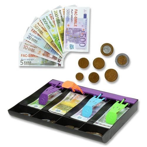 Speelgeld in geldlade
