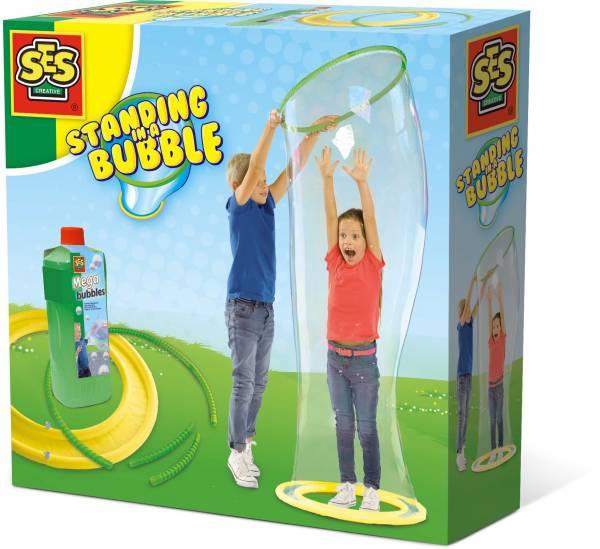 Staan in een Mega Bubble SES (02257)