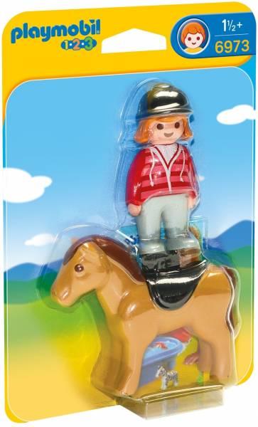 Ruiter met paard Playmobil (6973)