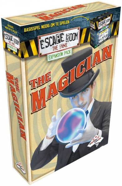 Escape Room The Game expansion - Magician