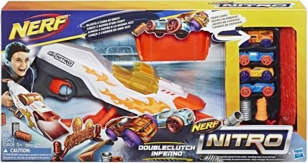 Nitro Doubleclutch Inferno Nerf (E0858)