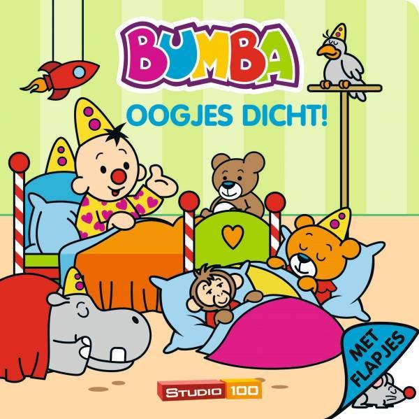 Boek Bumba flapjes: oogjes dicht
