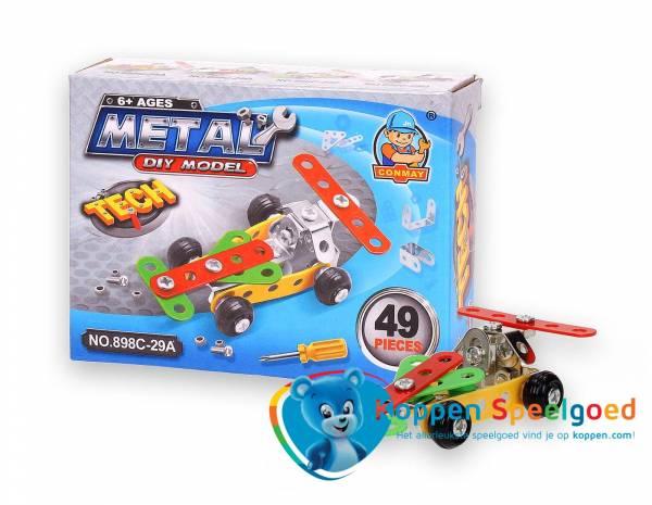 Constructiedoos metaal voertuig