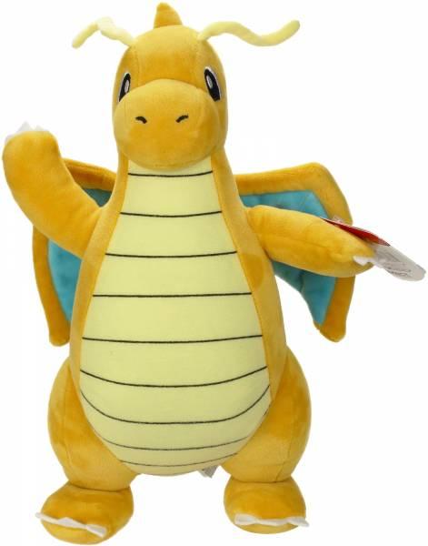 Pluche Pokemon: Dragonite 30 cm (36259/36258)