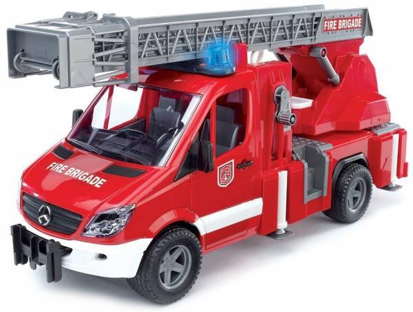Bruder Mercedes Sprinter Brandweer Ladderwagen 02532