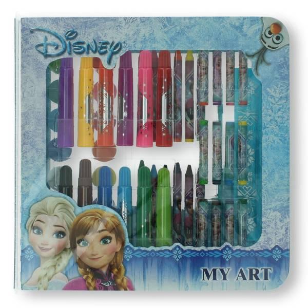 Disney Frozen kleurdoos 51 delig