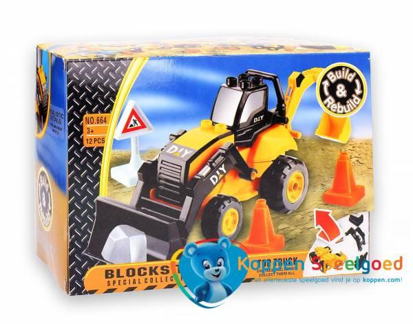 Bouwverkeer bulldozer