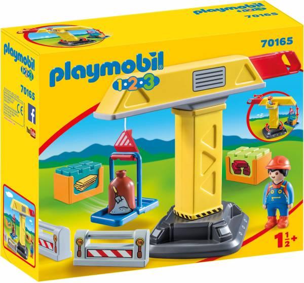 1.2.3. Bouwkraan Playmobil (70165)