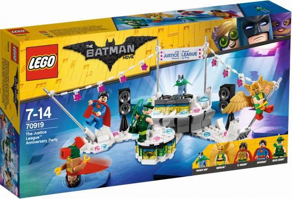 Het Justice League jubileumfeest Lego (70919)