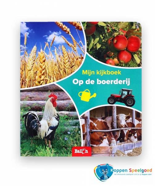 Mijn kijkboek: Op de boerderij