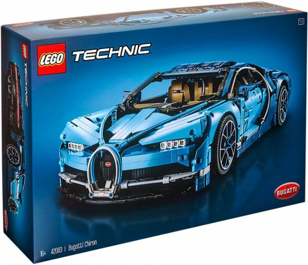 Bugatti Chiron Lego (42083)