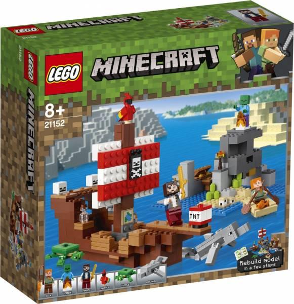 Avontuur op het piratenschip Lego (21152)