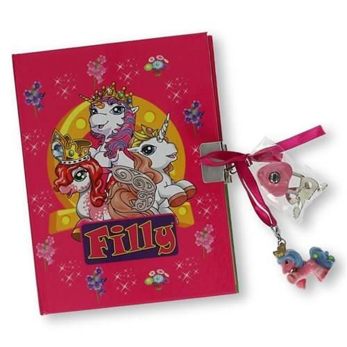 Filly dagboek met slot