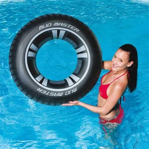 Zwemring autoband 91 cm