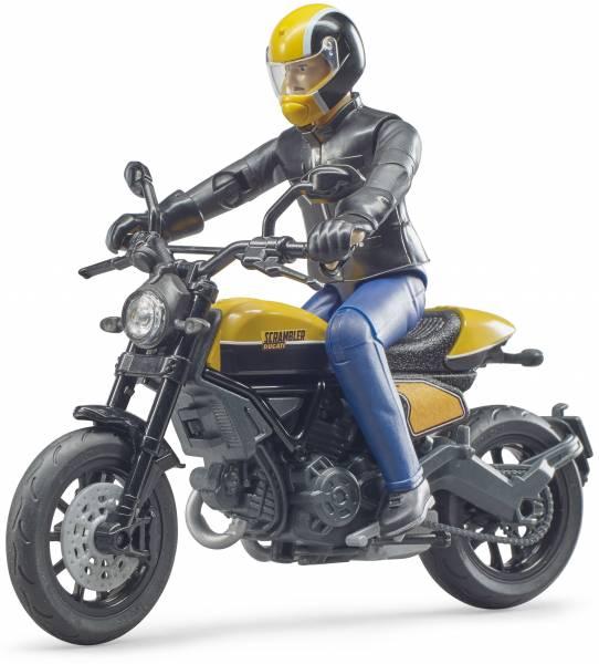Bworld Ducati Scrambler met bestuurder Bruder (630 53)