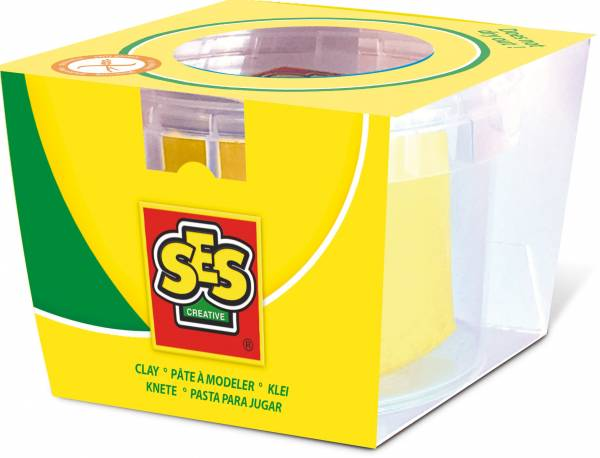 Klei SES: geel 90 gram (00401)
