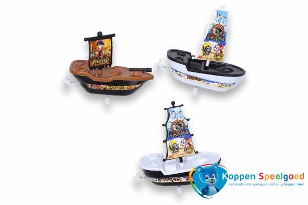 Opdraai piraten boot