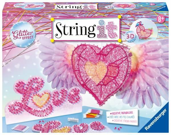 String IT 3d Heart (180653)