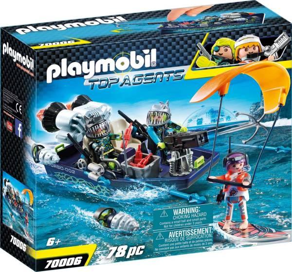 S.h.a.r.k. Team Harpoenboot Playmobil (70006)