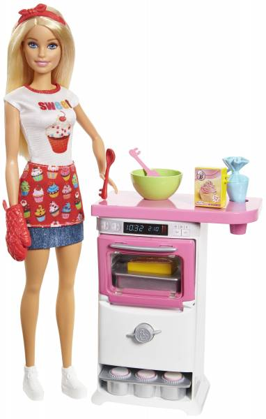 Cupcake speelset Barbie