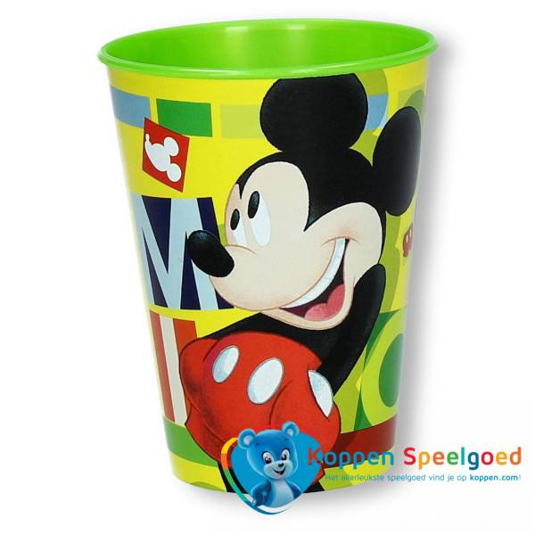 Beker Mickey Watercolors 260 ML