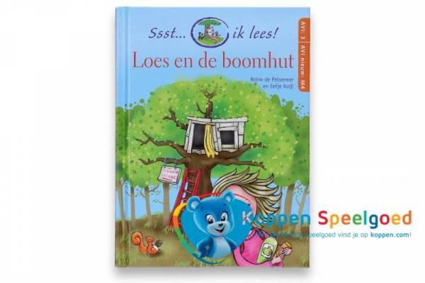 Boek, Ssst... ik lees! Loes en de boomhut. AVI3 M4