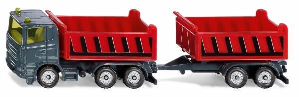 Vrachtwagen met kantelbare bak en kiepaanhanger SI KU (1685)