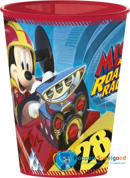 Beker Mickey en Roadster Racers 260 ML