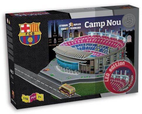 FC Barcelona LED puzzel Camp Nou - 100 stukjes