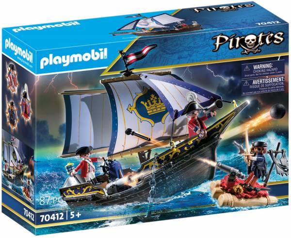 Zeilschip van de soldaten Playmobil (70412)