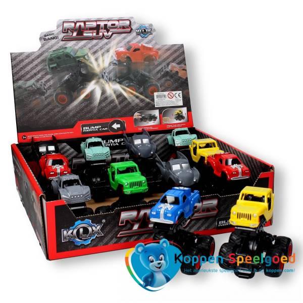 Monster truck met frictie