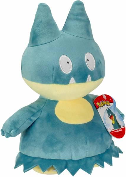 Pluche Pokemon: Munchlax 20 cm (36292/36289)