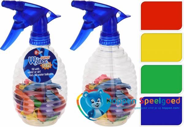 Waterballonnen inclusief pomp 500 ml