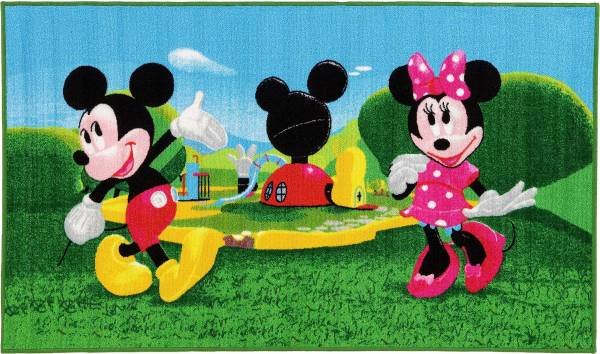 Vloerkleed Mickey Mouse Clubhouse: 140x80 cm (1541 9)
