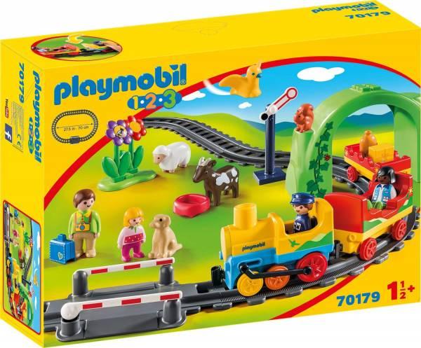 1.2.3. Mijn eerste trein Playmobil (70179)