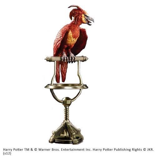 Fawkes Phoenix standbeeld