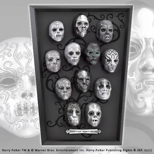 Death Eater 12 mini maskers collectie