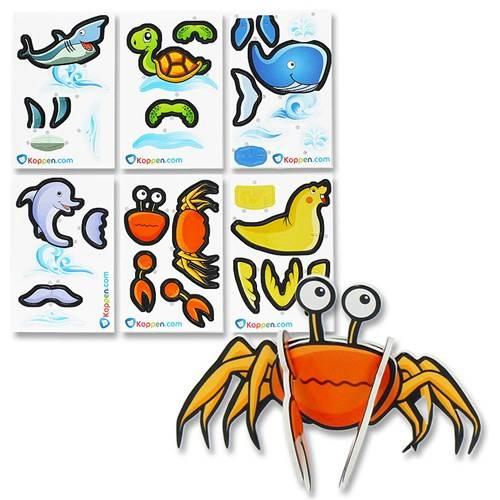 3D Puzzel Zeedieren