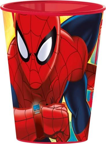 Beker Spiderman Red Webs 260 ML