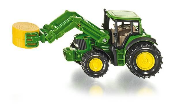 Siku 1379 Tractor met Balen Grijper