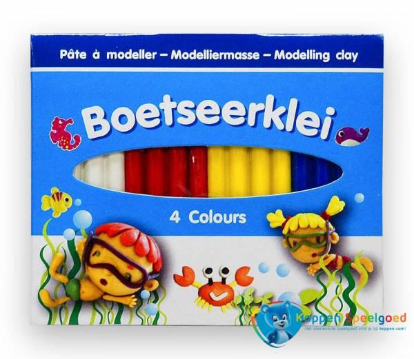 Boetseerklei 4 kleuren