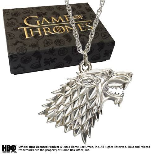 Game of Thrones - Sterling zilver Stark hanger