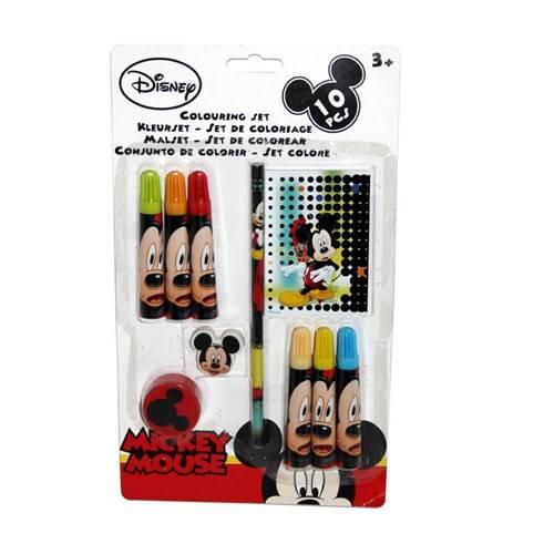 Disney Mickey 10 delige kleurset