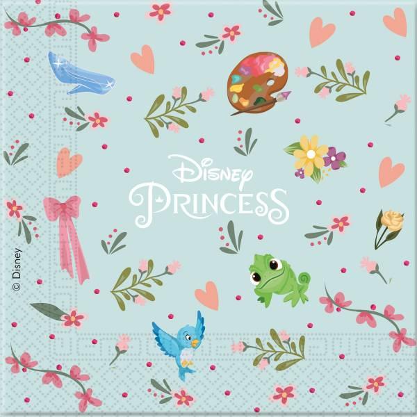 Servetten Princess 33x33 cm: 20 stuks (89220P)